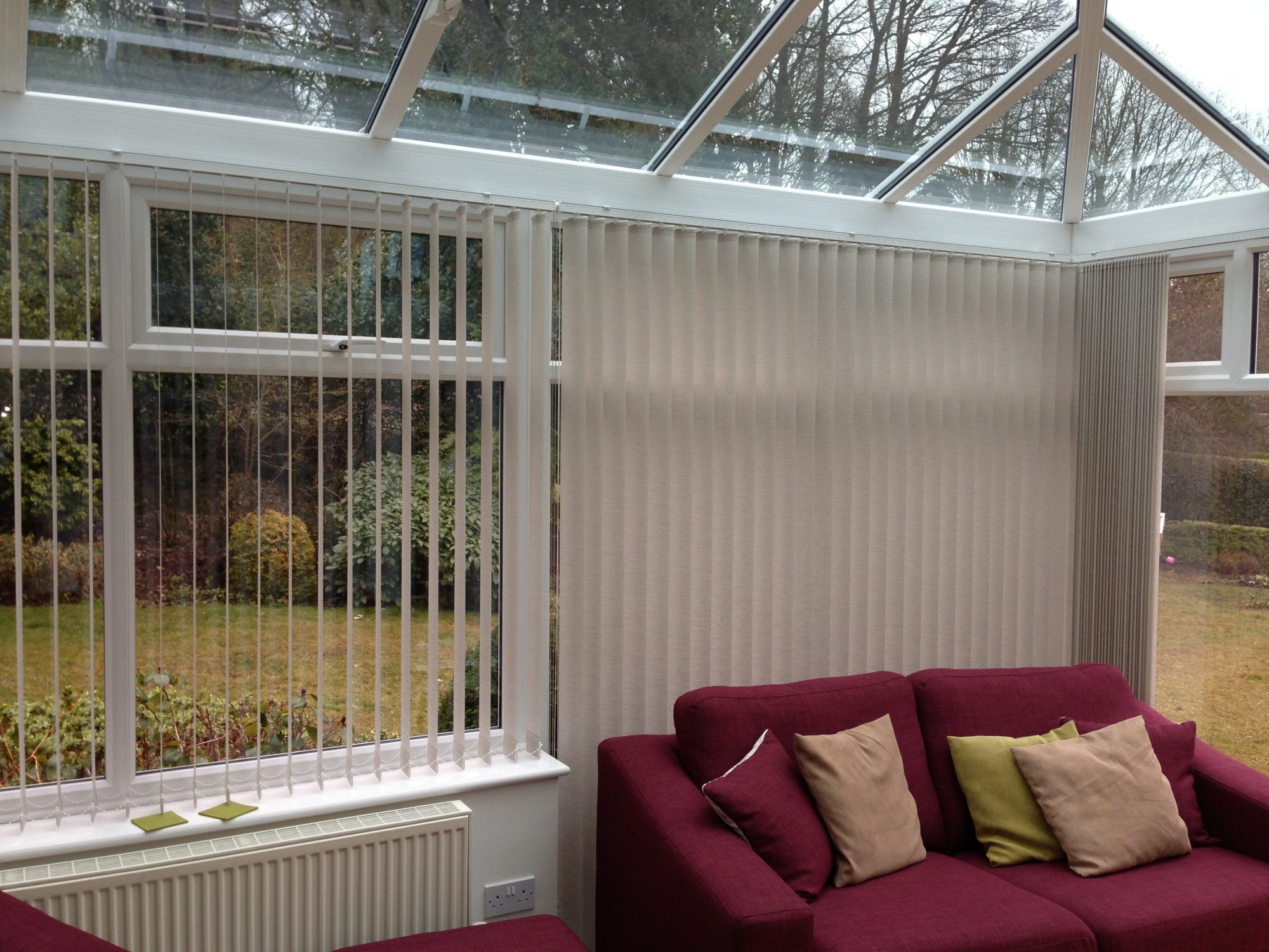 Conservatory Blinds Abbey Blinds Uk